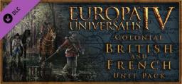 Europa Universalis IV - Colonial British and French Unit Pack (DLC)