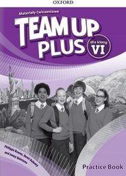 Team Up Plus 6 Materiały ćwiczeniowe + kod online