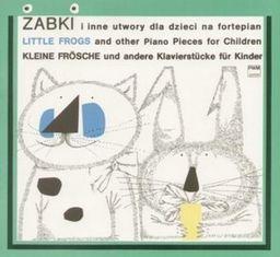 Żabki i inne utwory dla dzieci na fortepian PWM