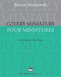 Cztery miniatury na fortepian PWM