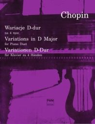 Wariacje D-dur na fortepian na 4 ręce PWM