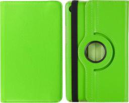 Etui do tabletu 4kom.pl Etui obrotowe 360 Huawei MediaPad M5 8.4 Zielone uniwersalny