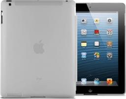 Etui do tabletu 4kom.pl Przezroczyste etui Back Cover do iPad 2 / 3 / 4 Szare uniwersalny