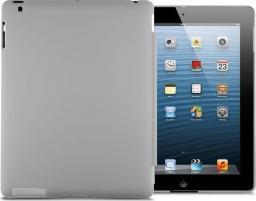 Etui do tabletu 4kom.pl Matowe etui Back Cover do Apple iPad 2 / 3 / 4 szare uniwersalny