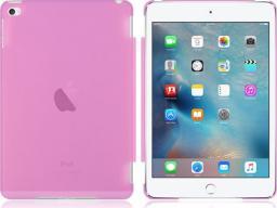 Etui do tabletu 4kom.pl Przezroczyste etui Back Cover do Apple iPad mini 4 ROŻOWE uniwersalny