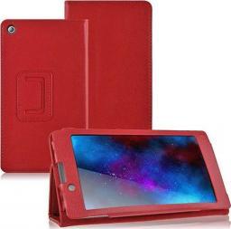 Etui do tabletu 4kom.pl Stand Cover do Lenovo Tab 2 A7-10F Czerwone uniwersalny