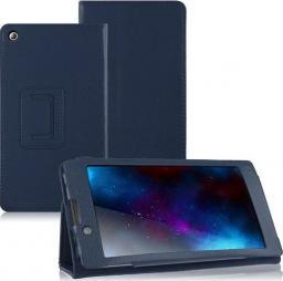 Etui do tabletu 4kom.pl Stand Cover do Lenovo A7-10F Granatowe uniwersalny