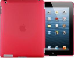 Etui do tabletu 4kom.pl Przezroczyste etui Back Cover do iPad 2 / 3 / 4 Czerwone uniwersalny