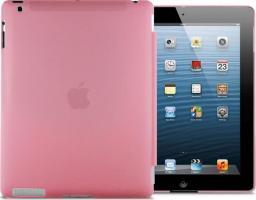 Etui do tabletu 4kom.pl Przezroczyste etui Back Cover do iPad 2 / 3 / 4 Różowe uniwersalny