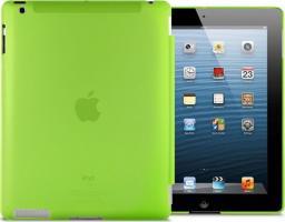 Etui do tabletu 4kom.pl Przezroczyste etui Back Cover do iPad 2 / 3 / 4 Zielone uniwersalny