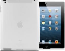 Etui do tabletu 4kom.pl Przezroczyste etui Back Cover do iPad 2 / 3 / 4 Białe uniwersalny
