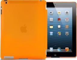 Etui do tabletu 4kom.pl Przezroczyste etui Back Cover do iPad 2 / 3 / 4 Pomarańczowe uniwersalny