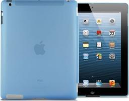 Etui do tabletu 4kom.pl Przezroczyste etui Back Cover do iPad 2 / 3 / 4 Niebieskie uniwersalny