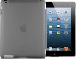 Etui do tabletu 4kom.pl Przezroczyste etui Back Cover do iPad 2 / 3 / 4 Czarny uniwersalny