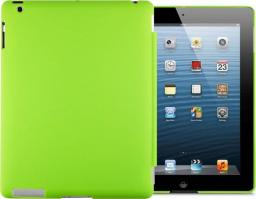Etui do tabletu 4kom.pl Matowe etui Back Cover do Apple iPad 2 / 3 / 4 zielone uniwersalny