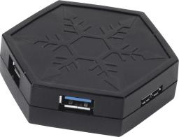 HUB USB SilverStone USB 3.0 4 port SST-EP01B