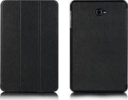 Etui do tabletu 4kom.pl Etui Book Cover do Samsung Galaxy Tab A 10.1 T580 T585 Czarne uniwersalny