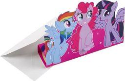 AMSCAN Zaproszenia urodzinowe z kopertami My Little Pony - 8 szt. uniwersalny