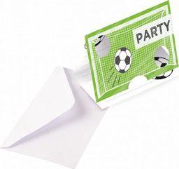 AMSCAN Zaproszenia urodzinowe Kicker Party - 8 szt. uniwersalny