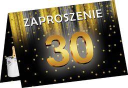 Congee.pl Zaproszenia z kopertą na 30-tke - 6 szt. uniwersalny