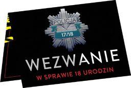 Congee.pl Zaproszenia z kopertą na 18-tke Wezwanie - 6 szt. uniwersalny