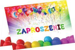 Congee.pl Zaproszenie urodzinowe z balonikami - 1 szt. uniwersalny