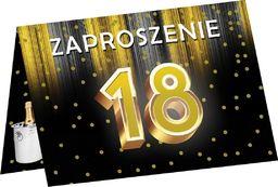 Congee.pl Zaproszenia z kopertą na 18-tke - 6 szt. uniwersalny