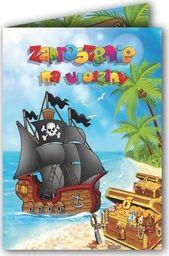 DP Craft Zaproszenie urodzinowe Piraci - 1 szt. uniwersalny