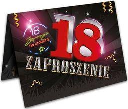 DP Craft Zaproszenie z kopertą na 18-tke - 1 szt. uniwersalny