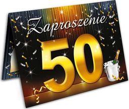 DP Craft Zaproszenie urodzinowe 50-tka - 1 szt. uniwersalny