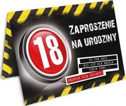 DP Craft Zaproszenie na 18-tke Danger - 1 szt. uniwersalny