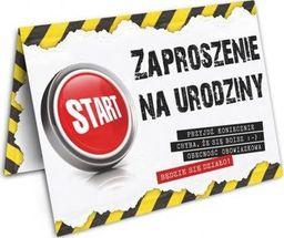 DP Craft Zaproszenie urodzinowe Danger - 1 szt. uniwersalny
