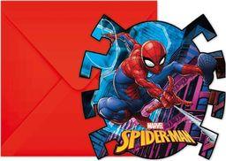 Procos2 Zaproszenia urodzinowe Spiderman Team Up - 6 szt. uniwersalny