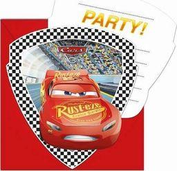 Procos2 Zaproszenia urodzinowe Cars 3 - 6 szt uniwersalny