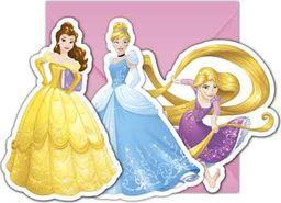 Procos2 Zaproszenia urodzinowe Princess - Księżniczka - 6 szt. uniwersalny