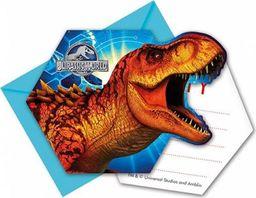 Procos2 Zaproszenie urodzinowe Jurassic World - Park Jurajski - 6 szt. uniwersalny
