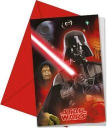 Procos2 Zaproszenia urodzinowe Star Wars Heroes - 6 szt. uniwersalny