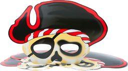 GoDan Maska Pirat - 6 szt. uniwersalny