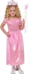 AMSCAN Kostium Różowa Księżniczka dla dziewczynki uniwersalny