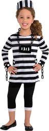 AMSCAN Kostium Więźniarka dla dziewczynki uniwersalny