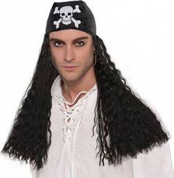 AMSCAN Peruka Pirat z bandaną - 1 szt. uniwersalny