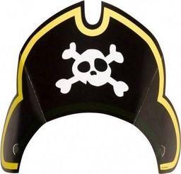 AMSCAN Czapka pirata - 8 szt. uniwersalny