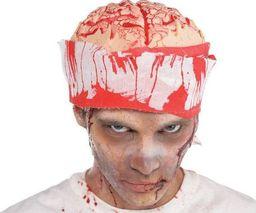 AMSCAN Czapka Mózg z bandażem na Halloween - 1 szt. uniwersalny