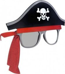 AMSCAN Okulary Pirat - 1 szt. uniwersalny