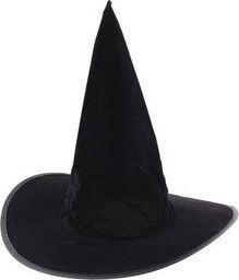 GoDan Kapelusz czarownicy flokowany na Halloween - 1 szt. uniwersalny