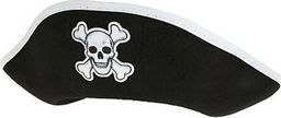 GoDan Czapka pirata z białym obszyciem - 1 szt. uniwersalny