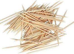 GoDan Wykałaczki drewniane - 2 x 65 mm - 1000 szt. uniwersalny