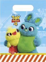 PROCOS Prezentowe torebki urodzinowe Toy Story 4 - 6 szt. uniwersalny