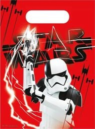 PROCOS Prezentowe torebki urodzinowe Star Wars - The Last Jedi - 6 szt. uniwersalny