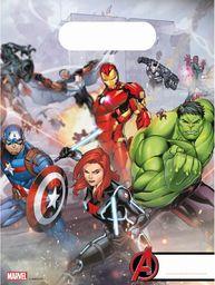 PROCOS Prezentowe torebki urodzinowe Mighty Avengers  - 6 szt. uniwersalny